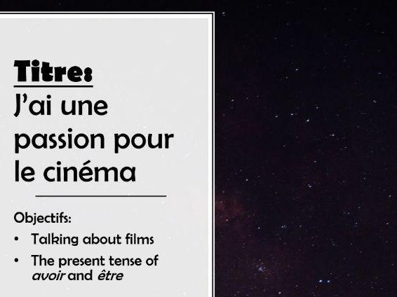 Studio 2 Rouge  Module 1     Unit 2 pp. 10–11 J'ai une passion pour le cinéma