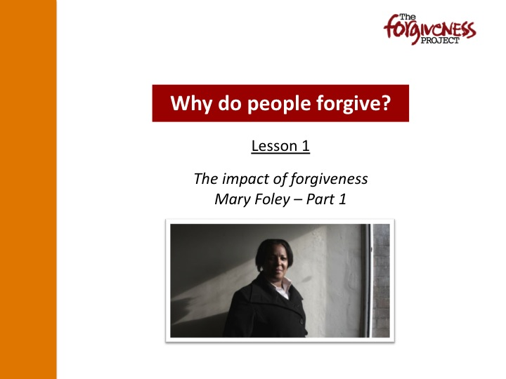 Why do people forgive? PPT