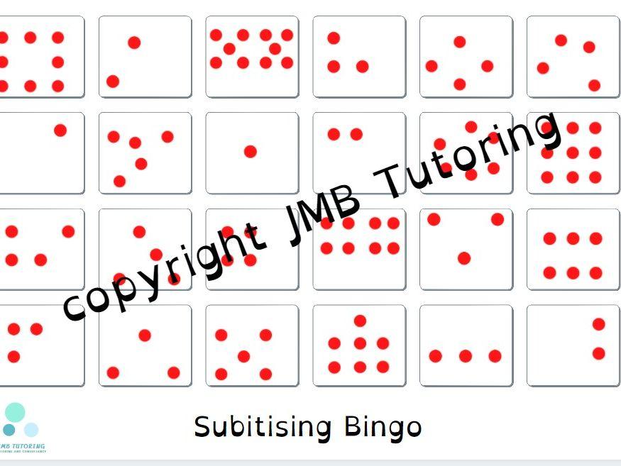 Subitising bingo