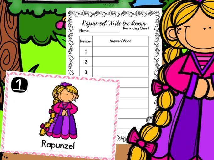 Rapunzel Write the Room