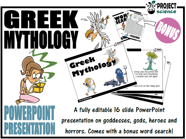 Greek Mythology PowerPoint Presentation