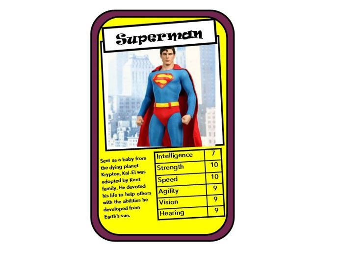 Top Trump Cards Template3 Publisher