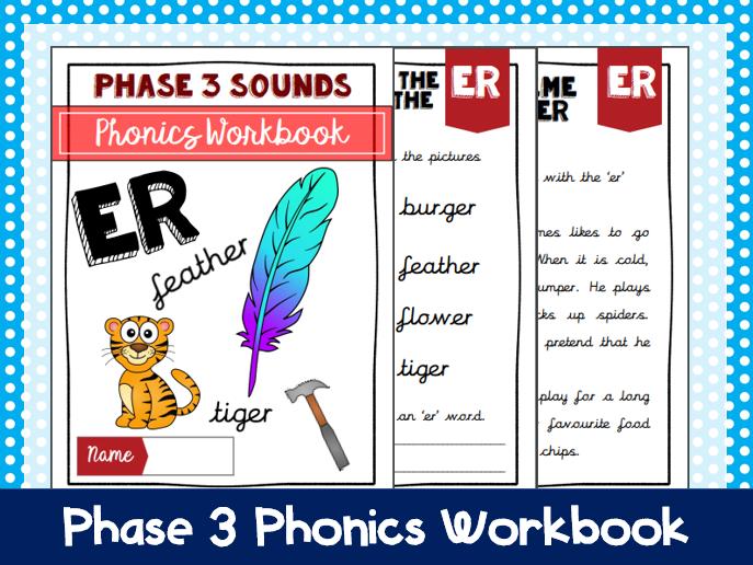 'er' Phonics Workbook
