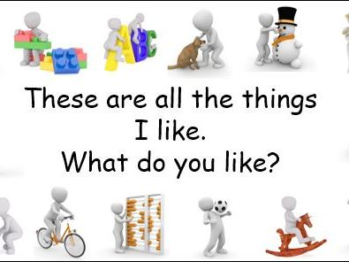 Ourselves 'Things I Like' PPT