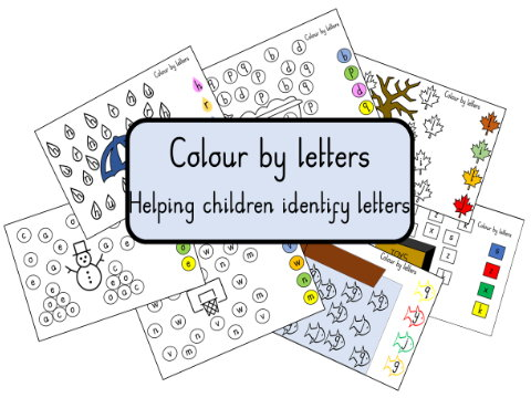 Colour by Letters