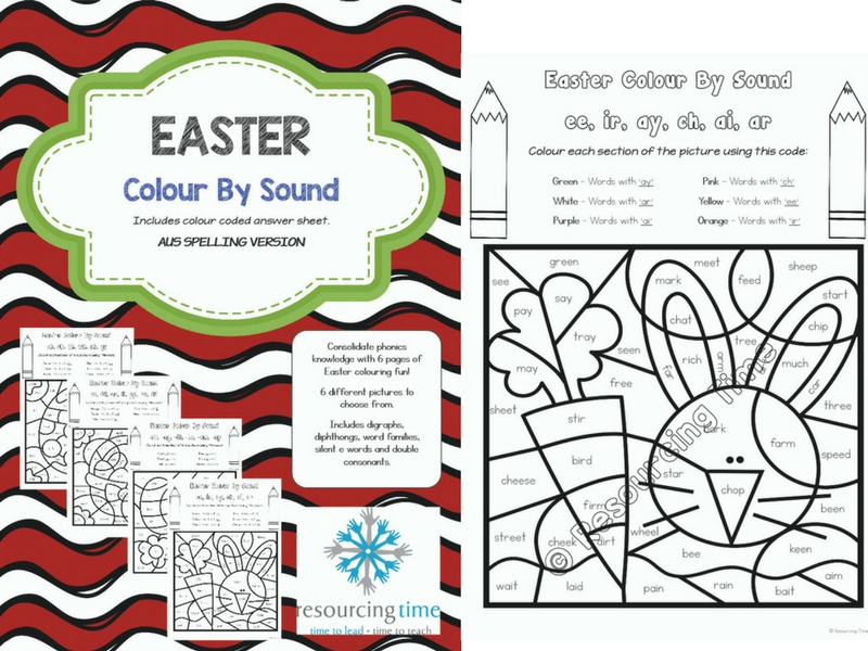 Easter Colour By Sound
