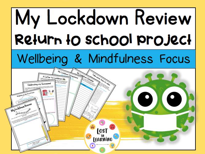 Back to School Post-Lockdown Project!