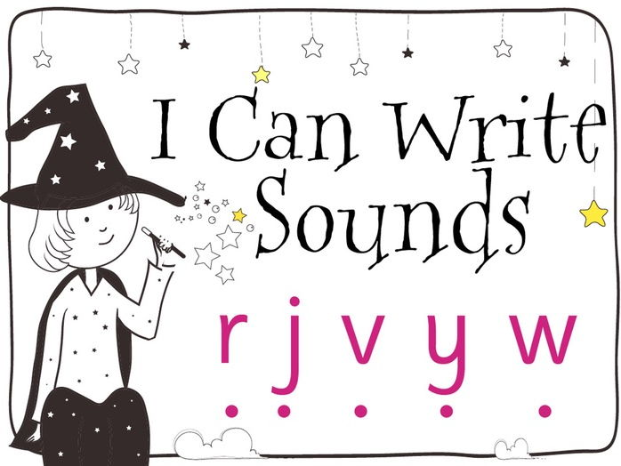 Magic Sounds Phonics: Set 5: r j v y w