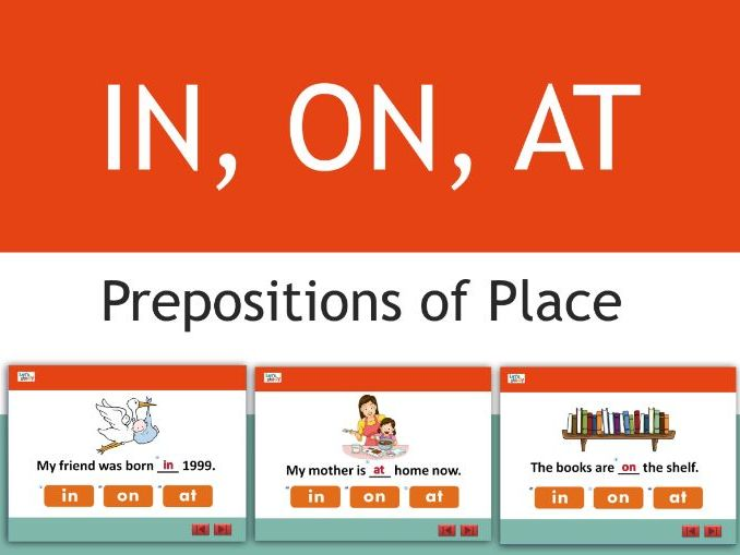 PREPOSITIONS OF TIME -AT-IN-ON
