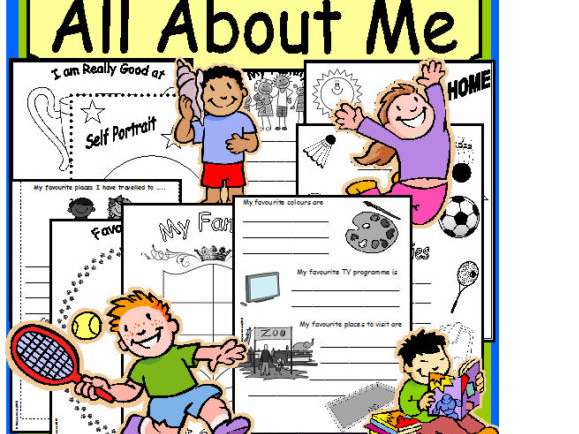 All about me booklet Worksheets New Term