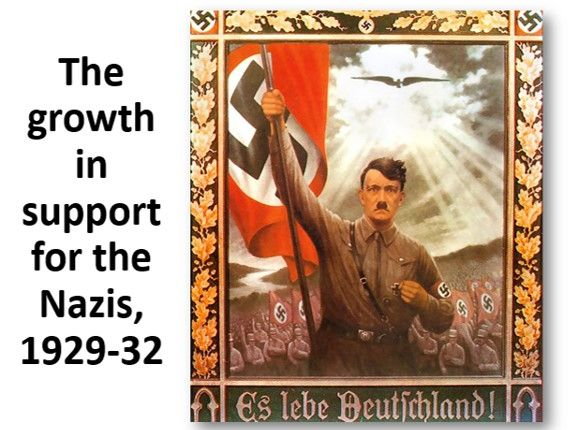 Growing Nazi support, 1929-32
