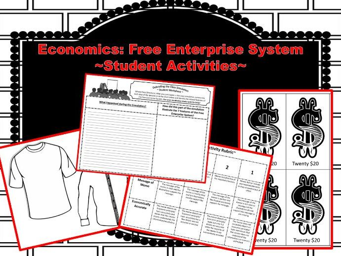 Economics: Free Enterprise System Student Activities