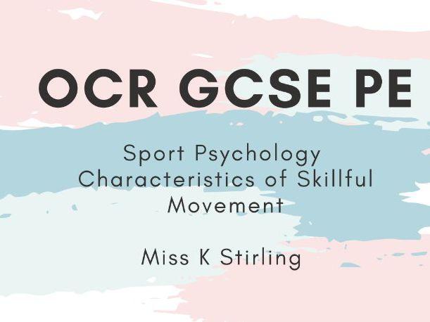 OCR GCSE PE- Sport Psychology
