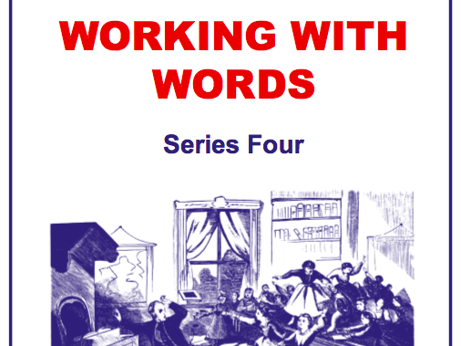Working With Words Series Four Scheme of Work Sample Pages