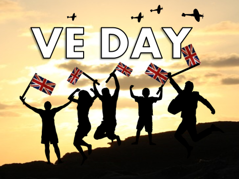 VE Day Assembly / Lesson with quiz worksheet 2018 - V-E Day, Victory in Europe Day, presentation