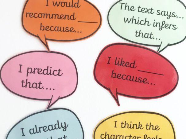 Reading Sentence Stems