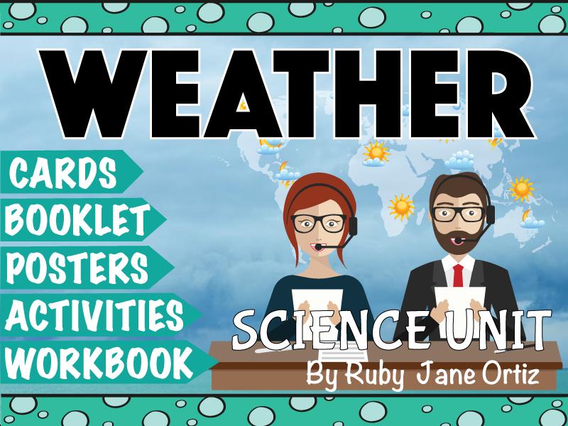 Weather Science Unit
