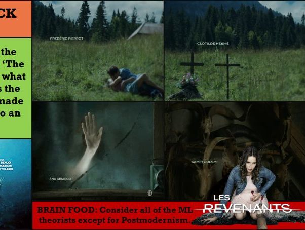 EDUQAS A LEVEL -TV IN THE GLOBAL AGE (SEC A) THE RETURNED: MEDIA LANGUAGE AND NARRATIVE
