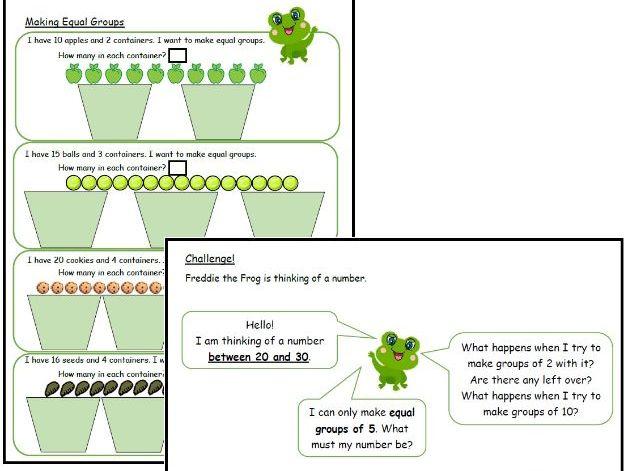Making Equal Groups (2)