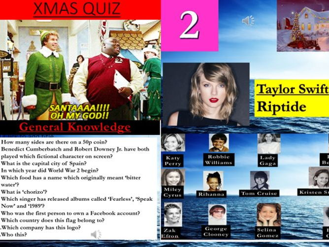 The BEST Christmas Quiz Ever!!!!!!