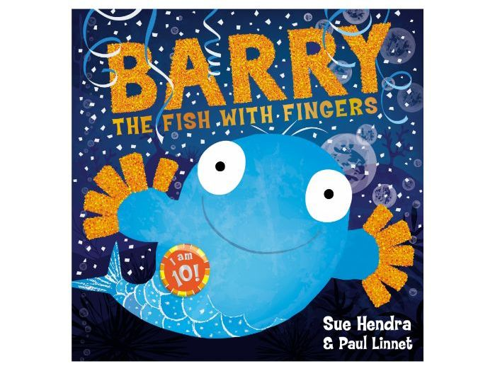 Sue Hendra & Paul Linnet: Barry the Fish with Fingers Party activity pack