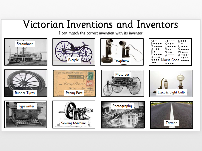 Victorian Inventions and Inventors