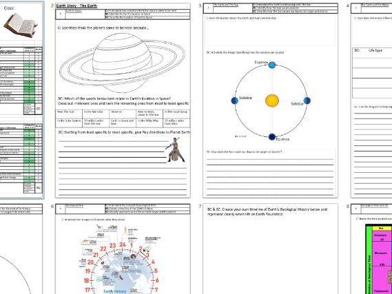 KS3 Earth Story Powerpoint