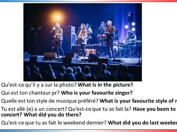 Studio 3 Module 1 (Ma vie social d'ado) GCSE Style role play, picture description and translation