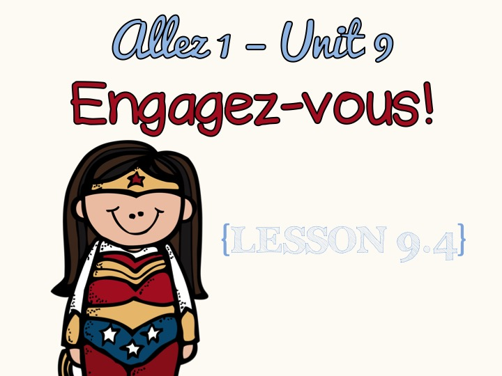 Allez 1- Unit 9.4 - Using 3 tenses - volunteering - KS3 French
