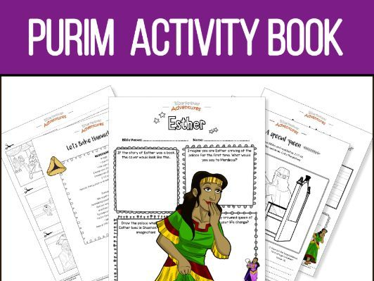 My Purim Coloring and Activity Book