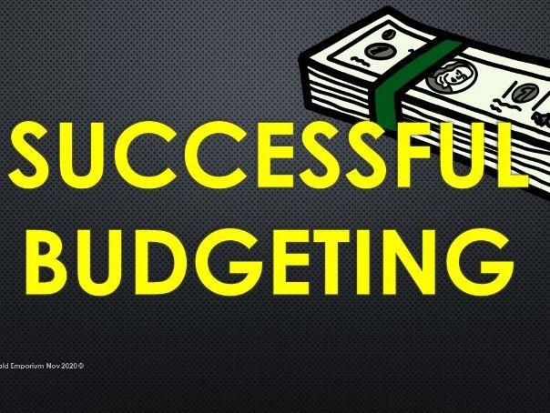 Financial Literacy Lesson 1, KS2/KS3 Ages 11- 15