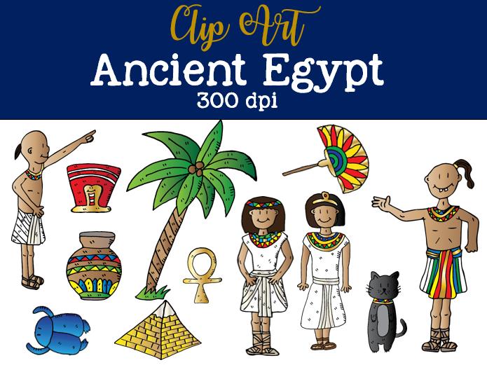 Ancient Egypt Clip Art Set 1