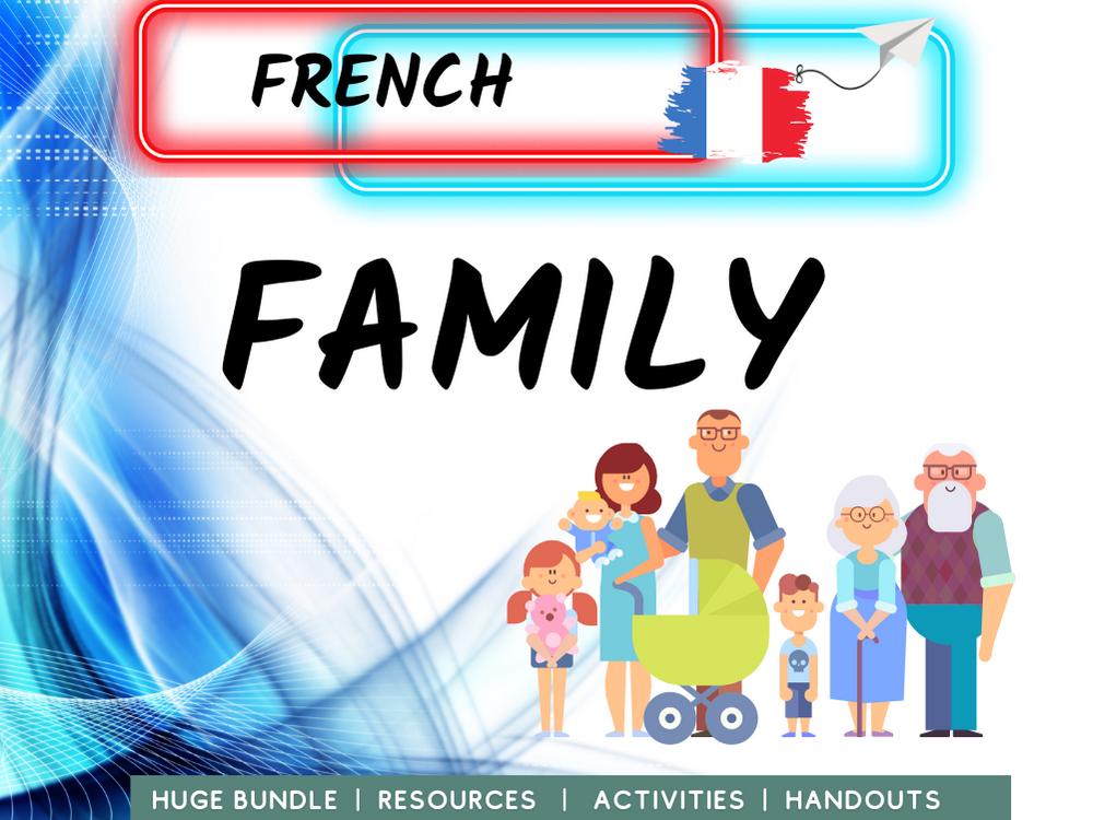 Family Relationships MFL French