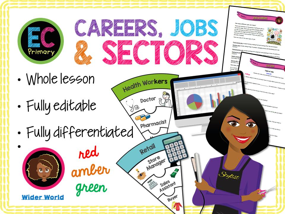 Jobs and Sectors KS2