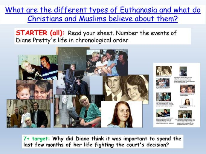 Euthanasia Introduction AQA Theme B (religion and life)