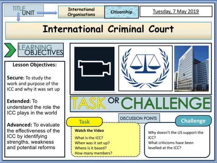 ICC - International Criminal Court