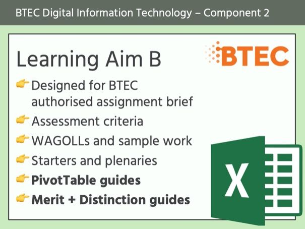 BTEC DIT - Component 2 (Learning Aim B)