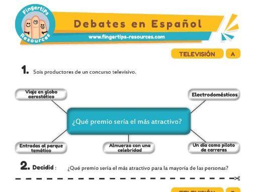 Televisión - Debates in Spanish