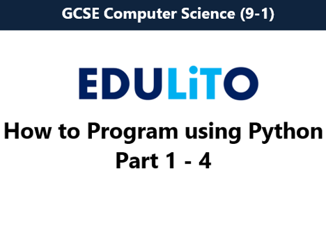 How to Program using Python - Bundle