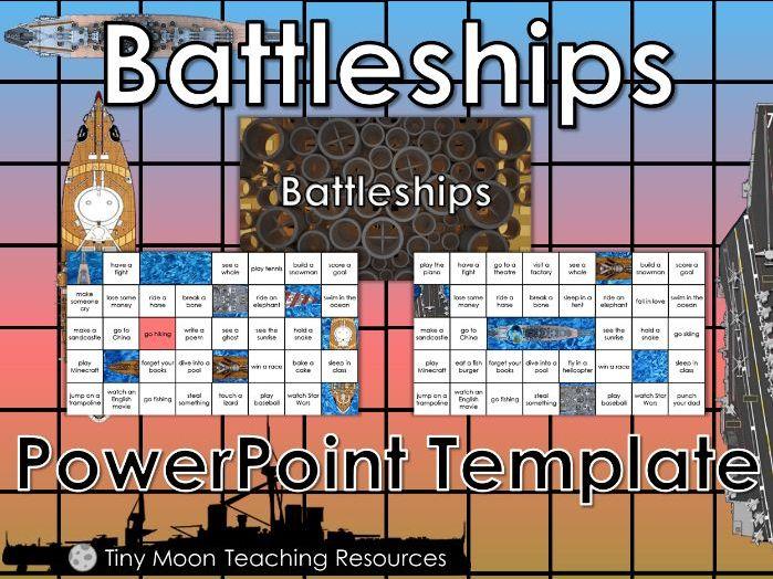 Battleships PowerPoint Template