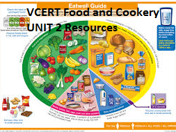 VCERT Food and Cookery UNIT 2 Level 1 and Level 2 Resources (10 very useful documents)