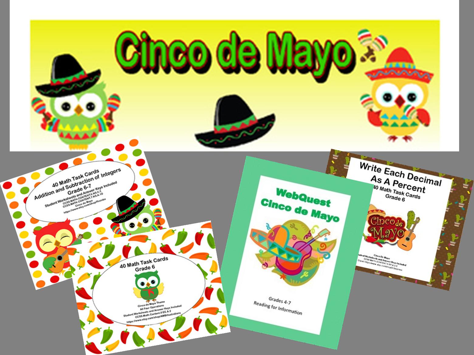 Sixth Graders Celebrate Cinco de Mayo
