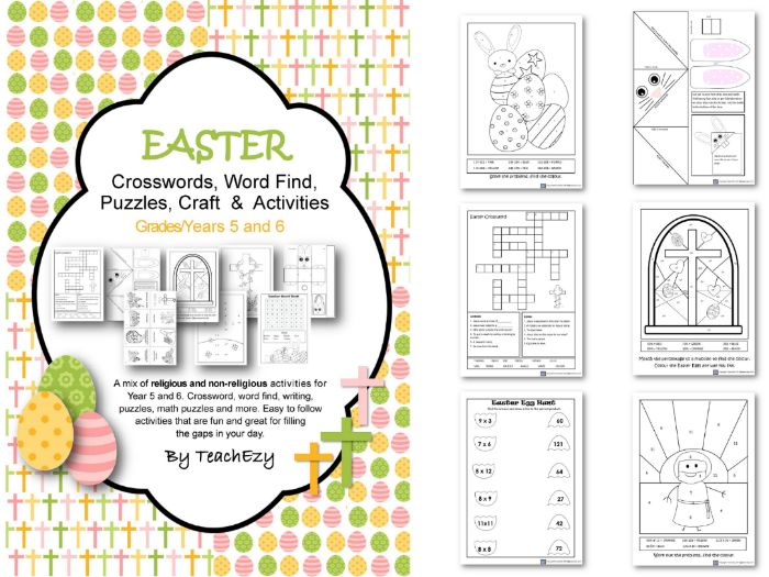 Easter Activities for Year 5/6