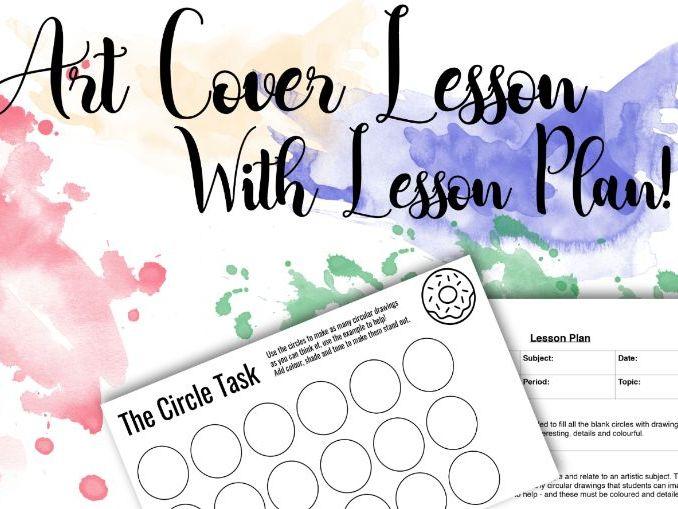 Circle Task - Sub Cover Lesson