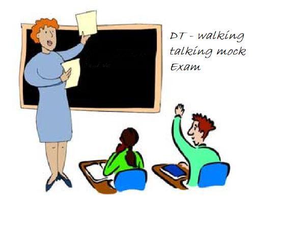 Walking Talking Mock Exam Paper Textiles
