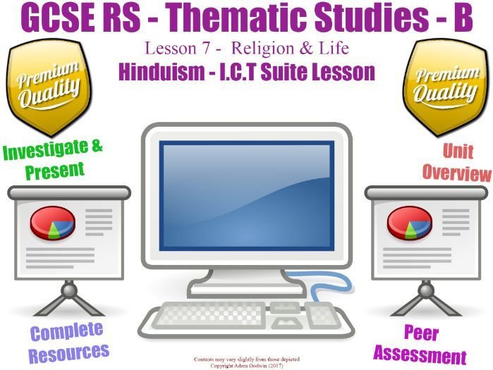Hinduism - Religion & Life Unit Overview / Revision (GCSE RS - Religion & Life - L7/7]