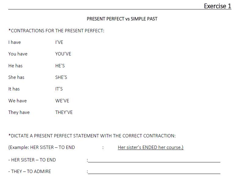 Present Perfect vs Simple Past (LESSON 26)