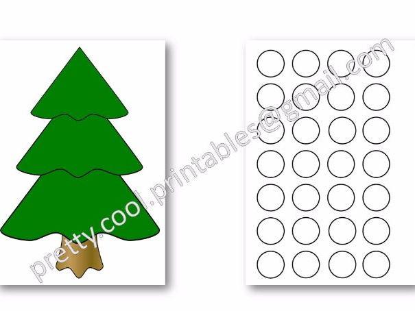 Christmas Bauble Template Printable. Free Printable Holiday ...