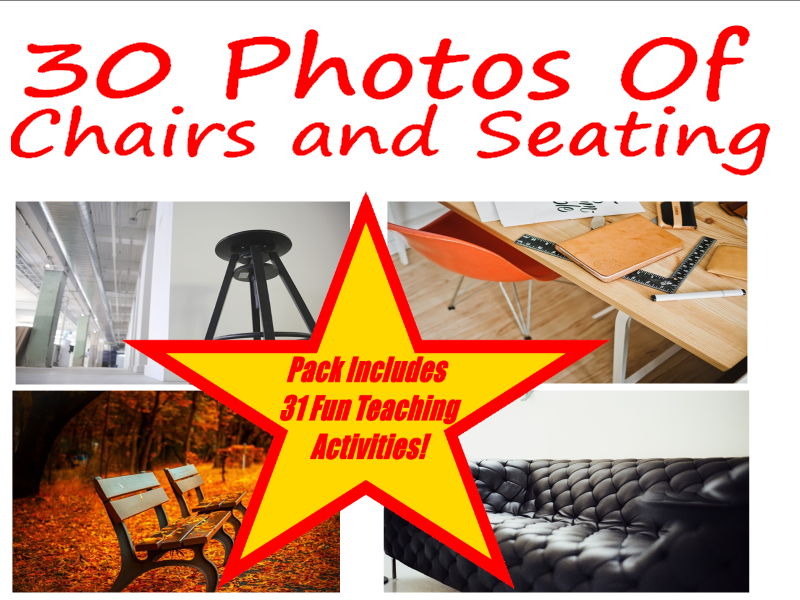 30 Examples Of Chairs And Seating Photos PowerPoint Presentation.