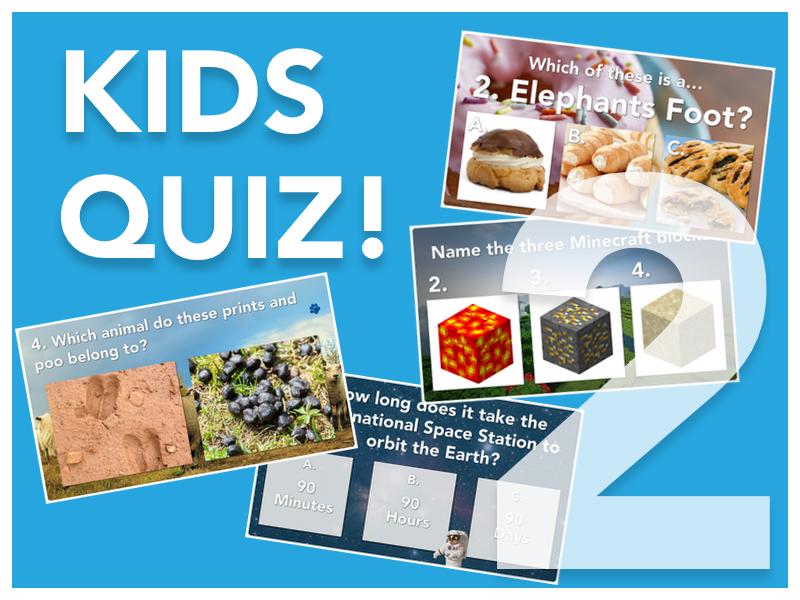 Kids Quiz 2